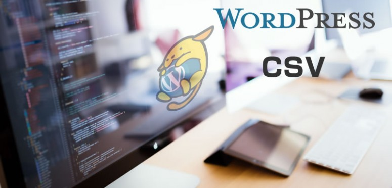Wordpress-CSV