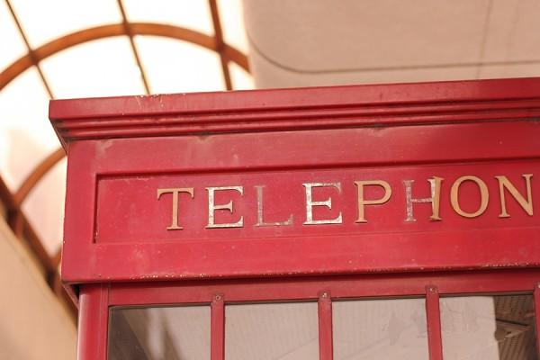 海外電話ボックス