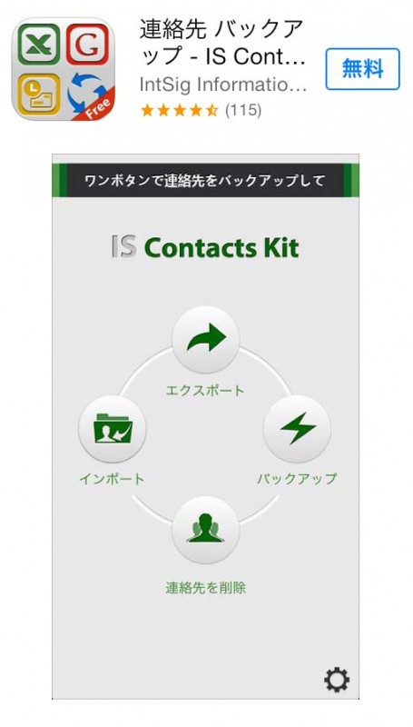 IS Contacts Kit