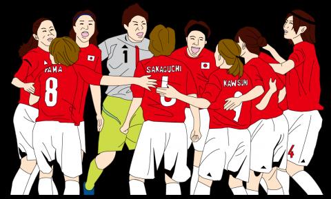 サッカー選手女子_01